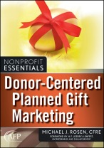 """Book Cover: """"Donor-Centered Planned Gift Marketing"""""""