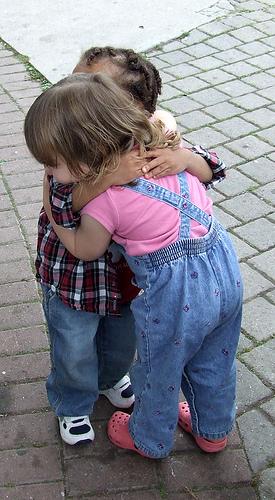 Hug-Clover_1 via Flickr