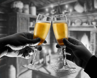 Champagne Toast by viking_79 via Flickr
