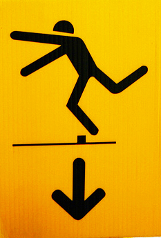 Tripping Hazard Sign by Jeffrey Beall via Flickr
