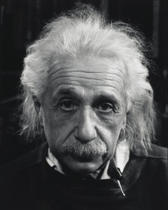 Albert Einstein by Philippe Halsman-1947