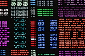 Word by Whatknot via Flickr