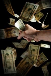 Money Grab by Steve Wampler Photography via Flickr