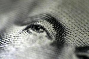 Eye on Money by peasap via Flickr