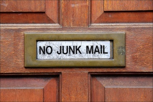 No Junk Mail by Rupert Ganzer via Flickr