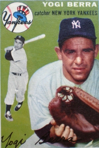 Yogi Berra Baseball Collection via Flickr
