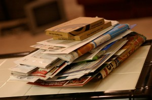 Heaping Pile of Mail by Charles Williams via Flickr