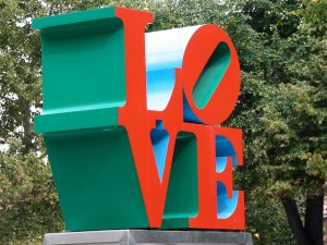 LOVE statue by Aaron Vowels via Flickr