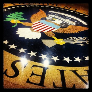 Presidential Seal by Jason Seliskar via Flickr