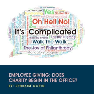 Should Charity Begin in the Office with Employee Giving? | Michael Rosen  Says...